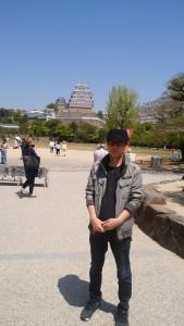 明吉姫路城バック